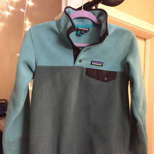 Patagonia Sweaters - NWOT Patagonia W's Synchilla Snap T Fleece P/O XS